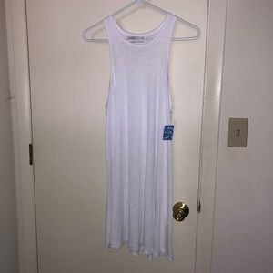 Free People Beach White tank dress NWT
